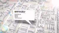2384[素材TV] 谷歌三维地图定位广告高清AE模板