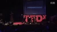 高大上JABBA跨界学术界,在Ted学术舞台上的表演及演讲