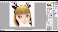 【有人画画组】商业插画课:绘制水彩质感的装饰画—娃娃