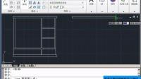 CAD教程  第四章 第九讲 实例制作-窗户平面图1