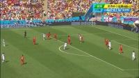 2014巴西世界杯每日进球小组赛 [射门]法伊祖林停球起左脚打门 库尔图瓦倒地扑出 140623