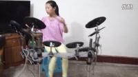 重庆南川区贺红梅三排键电子鼓演奏南泥湾