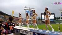 太養眼了!韓國性感美女棒球拉拉隊員在看臺熱舞!