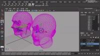 Maya教程 动画绑定 头部表情绑定视频9