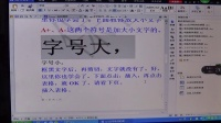 万万大海教你使用WPS文字软件MAH00172