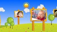 2409 快乐的孩子儿童生日片头 儿童节AE模板 国外AE工程