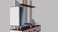 CAD绘制-电视柜
