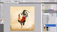 [PS]PS教程_PhotoshopCS4实例教程_9 国画雄鸡(二)
