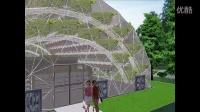 352平方米农产品生态展厅设计
