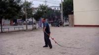 静海王口毛氏烧饼传人 玩转铁鞭子 健身视频