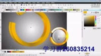 CDR软件下载、CDR包装设计、CDR设计圆形立体标志教程