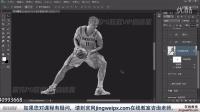 敬伟ps视频教程 B08-09滤镜系列-真人变雕塑
