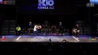 2014街舞大赛决赛巴西牛人跳鬼步韩国美女曳步舞vs跑酷