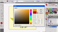 AI教程_AI CS6中文版从新手到高手讲座_1.1 更换花朵颜色