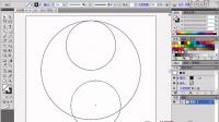 AI教程_AI CS6中文版从新手到高手讲座_1.3 绘制阴阳鱼图形