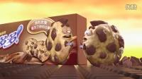 趣多多大块巧克力广告片