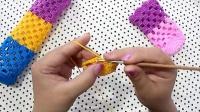 棒针符号图解2—5—1b学习编织课程(17)b棒针编织花样图解大全