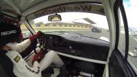 Leh Keen driving a 74 Porsche RSR in the 2014 LeMans Classic