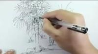 手绘板教程 手绘风景教程 手绘板绘画教程
