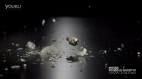 高清视频素材 - 高速摄影机拍摄摔碎的白炽灯泡
