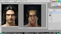 手绘板绘画基础教程CG美术设计教程01-人物头像写生训练