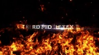 2465[素材TV] 震撼火焰装饰图片展示高清AE模板