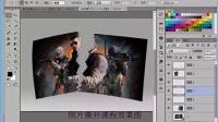 ps视频教程 ps基础合成照片撕开效果图