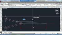 CAD平面绘图示范(七五)