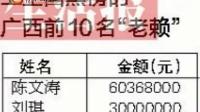 """广西3000多""""老赖""""上全国排行榜"""