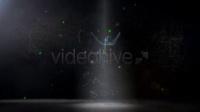 2494[素材TV] 星云粒子LOGO标志展示高清AE模板