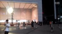 重庆北城天街苹果专卖店开幕前夜