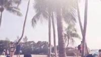 沙滩 美女。圣淘沙 新加坡