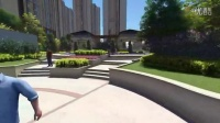滁州锦江华府居住区景观设计