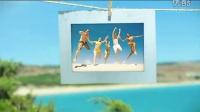 实拍 后期,清新明媚的夏日海边纪念册AE模板