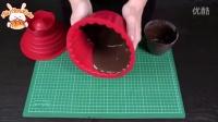 AliceHandCake视频教学11巨型巧克力杯子蛋糕制作方法