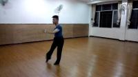 世界国标舞冠军宁文广恰恰舞表演