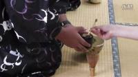穿和服 调制日式抹茶