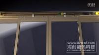 西科门窗电动门佛山三维动画广州三维动画