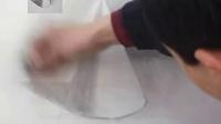 素描几何形体圆锥体的画法视频讲解