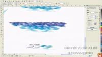 CDR教程 coreldraw 海上风光