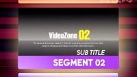 【挑模网】高清AE彩色方块广告电视栏目包装影视后期素材模板_GG006