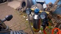 CB1300清洗节气门,缸头