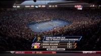 小威Serena Williams vs 海宁Justine Henin 2010年澳网女单决赛
