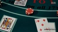 视频: 高清视频素材 - 21点游戏中不断开出的牌