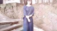 那树8月秋装上新-藏青色连衣裙