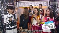 RED VELVET20140801音乐银行待机室采访中字幕-SGTLS
