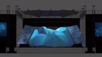 [Wonky KIM]互动媒体设计公司制作的2014 JYJ FM 立体光雕投影