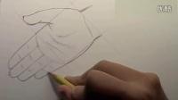 动漫绘画教学-怎样画人物的手