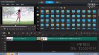 设置视频、图片间的转场 转场效果的应用【会声会影X7系列教程】