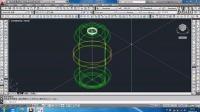 2014最新cad教程CAD三维建模实例-城市垃圾桶第二节【共2节】-1